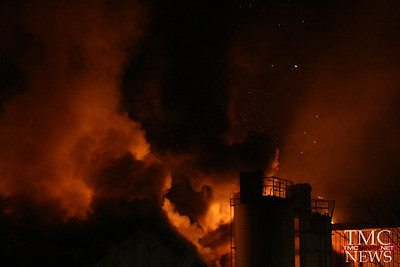 FIRE AT ELYRIA FOUNDRY