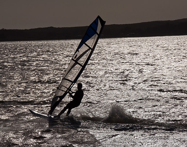 Wind Boarding - Bodega Bay, California