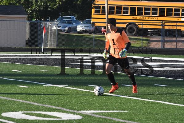 Lakeland Boys' Soccer vs. Three Lakes August 29, 2019