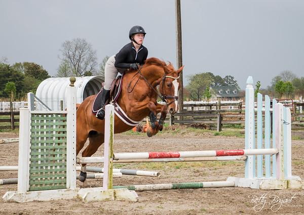 Hailey and Yonna Jump Clinic April