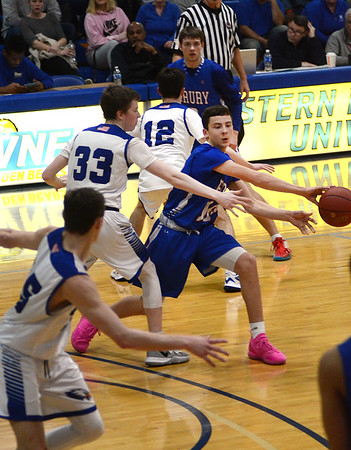 Drury boys defeated by Hopedale in state semifinals - 031020