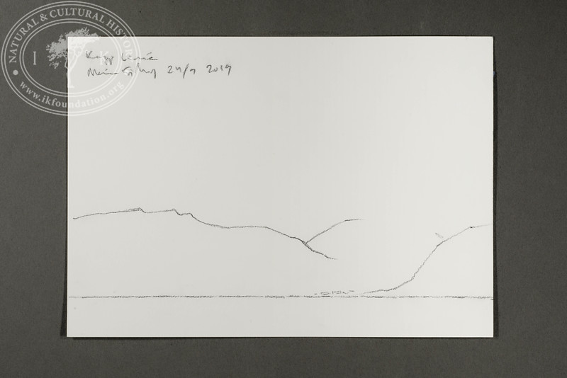 """Coast profile near Barentsburg and Festningen 