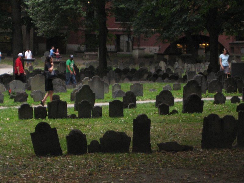 This graveyard is awesome!  It totally looks like something from a movie - but it's not!