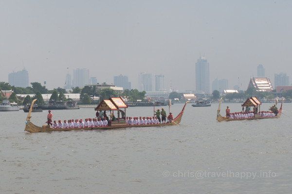 Royal Barges Procession 2012