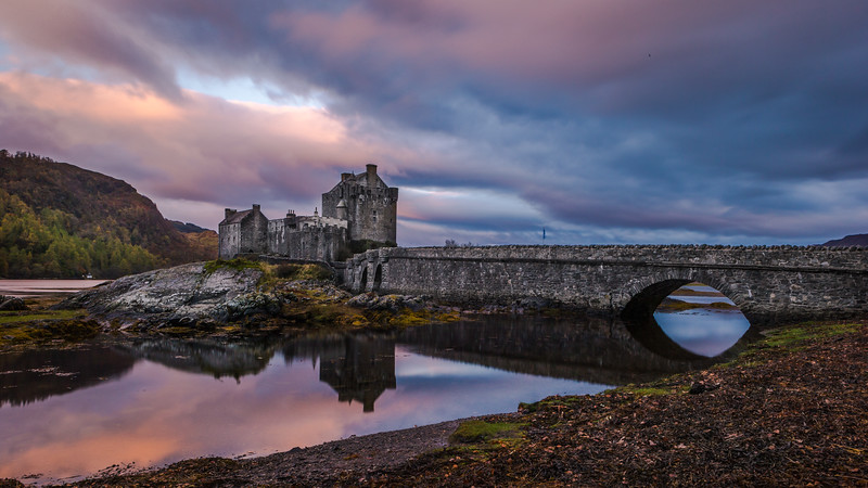 Reflection Of Eilean Donan