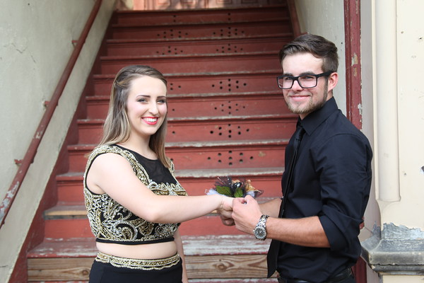 Taylor and Paul Homecoming