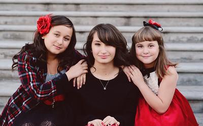 Shaylee, Clarissa, Savannah