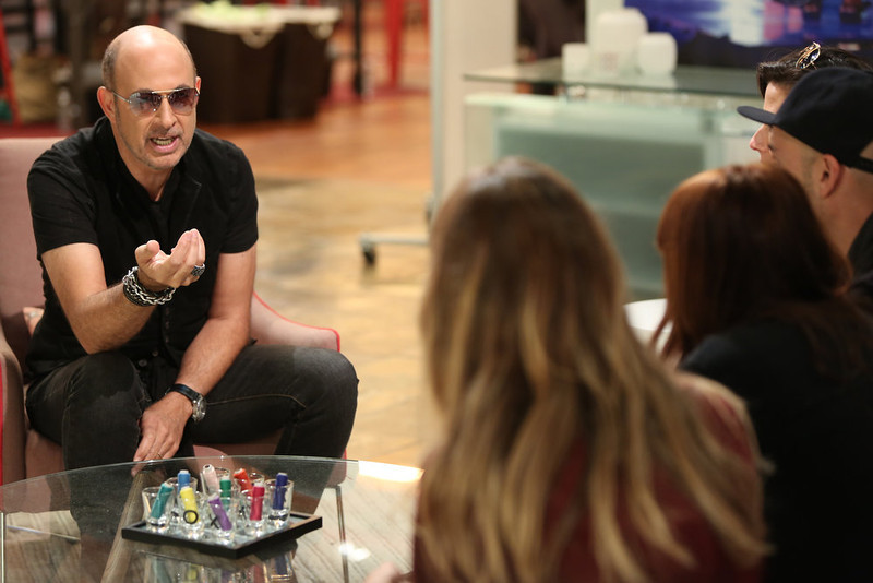 ". John Varvatos in NBC�s �Fashion Star."" Season 2 of the reality show returns Friday with mentors Jessica Simpson, Nicole Richie and John Varvatos, and with Glamour Magazine fashion editor-at-large Louise Roe as host. (Photo by: Tyler Golden/NBC)"