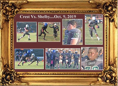 10-9-19 Crest Middle School vs. Shelby