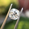 2.35ct Old Mine Cushion Cut, GIA J VS1 5