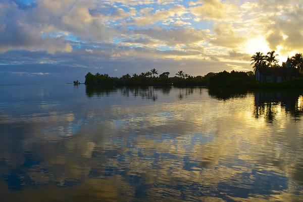 Kaneohe Bay Sunrise, Hawai'i