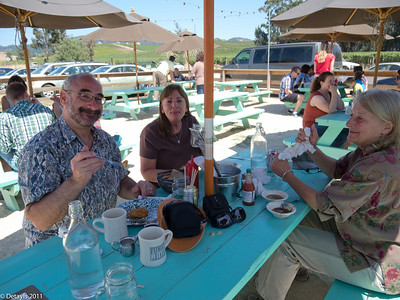 Two outings with Mitchell and Helen in 2011