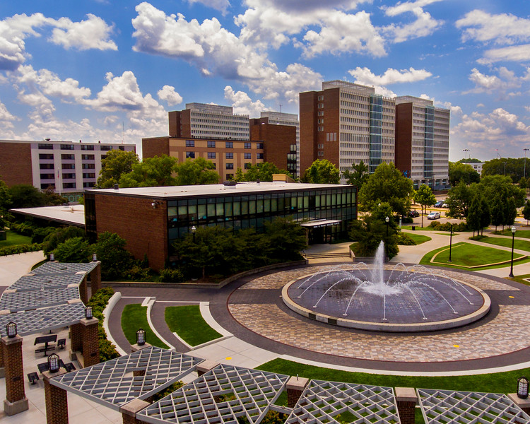 Dede Plaza Fountain