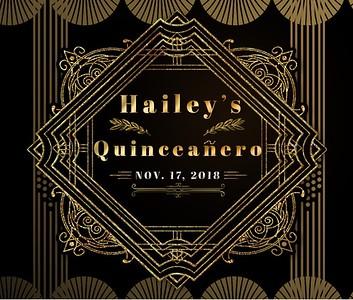 Hailey's Quinceanero!