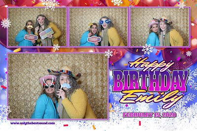 McDonald Birthday Party Photobooth 2.15.2020