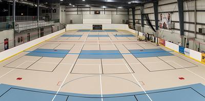 Soccer Centre Floor Resurfacing