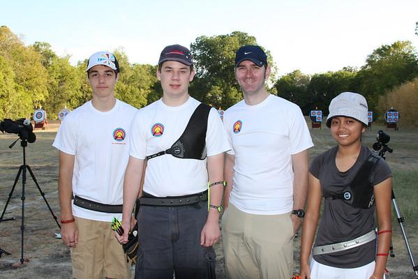 2011 - Outdoor Practice Tournament at UT (September)