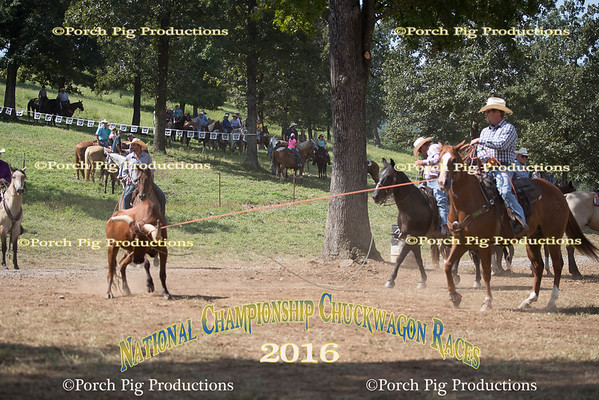 Friday Pasture Roping 2016 National Championship Chuckwagon Races