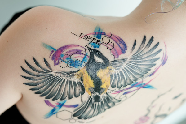 Veronika's tattoo