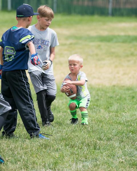 Little Mavs Football Camp 2016