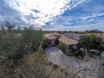grayhawk golfcourse lot drone pictures
