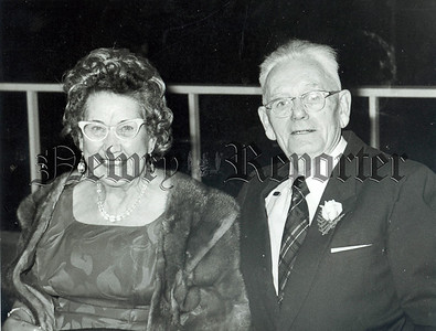 Mr & Mrs J Fearon Warren Hill pictured at their 55th Wedding anniversary on Saturday last.
