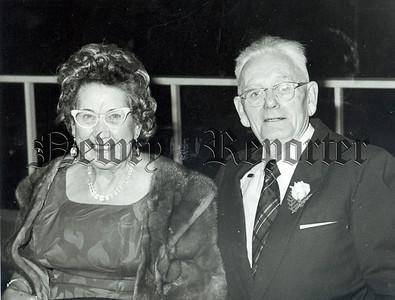 Mr & Mrs J Fearon Warren Hill pictured at their 55th Wedding anniversary on Saturday last.