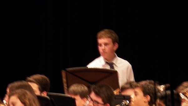 Jacob's 9th Grade Winter Band Concert