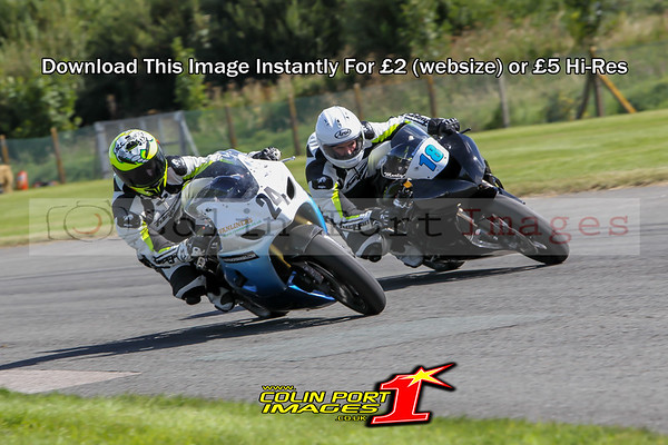 POWERBIKES & G-ERA SUPERBIKES RACE 4 -10 & 18 AINTREE AUG 2016