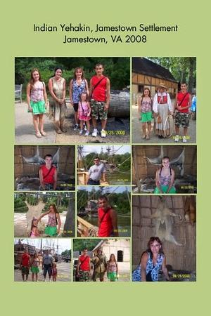 VA, Jamestown - Indian Yehakin Jamstown Settlement