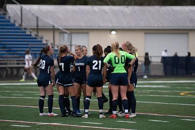 Shawnee girls soccer vs bishop eustace 1103