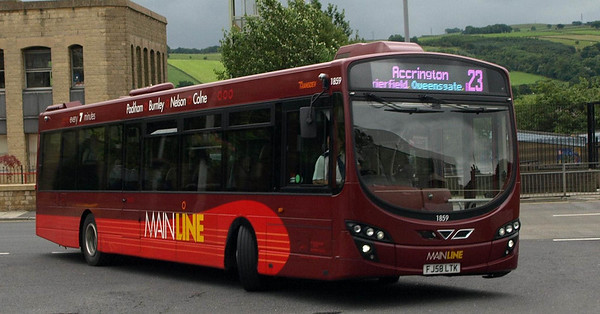 Colne Bus Station July 2010