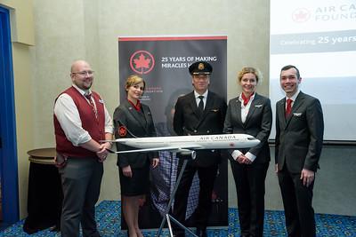 Air Canada Foundation Reception