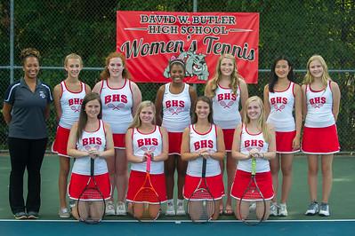 2014 BHS Womens Tennis Team Photos