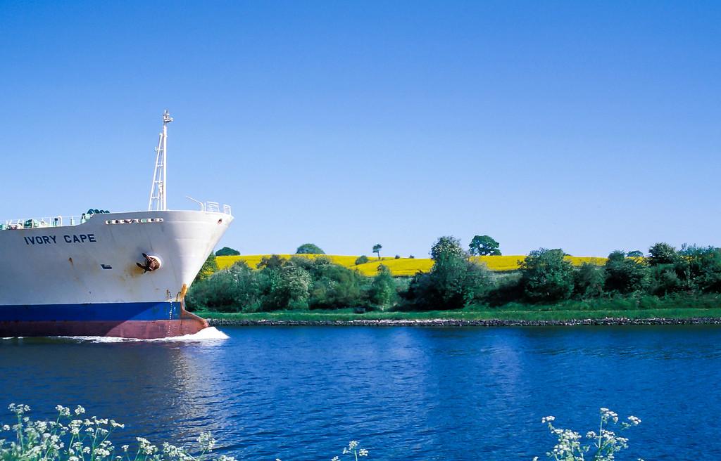 The Kiel Canal, Germany