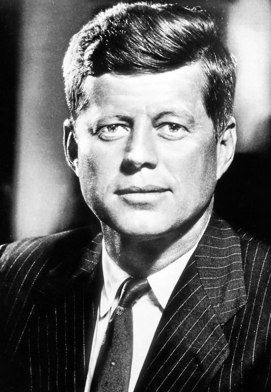 . President John F. Kennedy (Photo from John F. Kennedy Library)