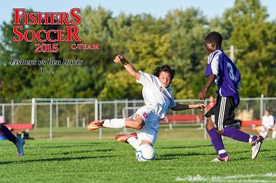2015 Boys C-Team Soccer - Ben Davis