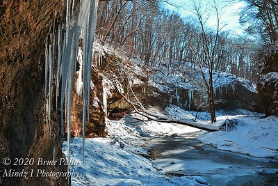 WINTER AT STARVED ROCK & MATTHIESSON PARK