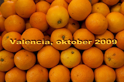 Valencia, oktober 2009