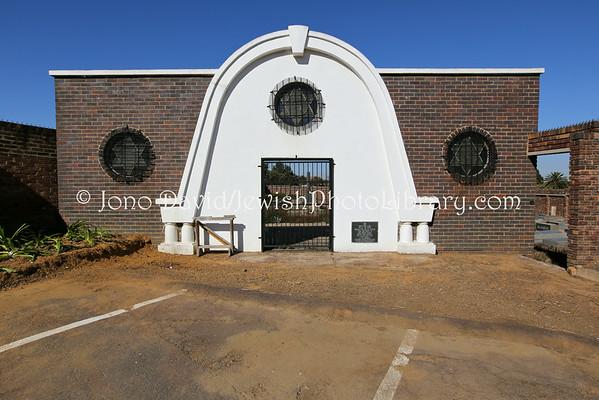 SOUTH AFRICA, Mpumalanga Province, Witbank. Witbank Jewish Cemetery (8.2013)