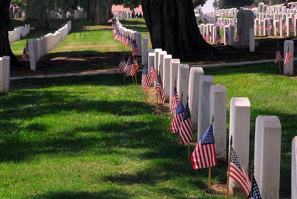 Rosecrans National Cemetery San Diego