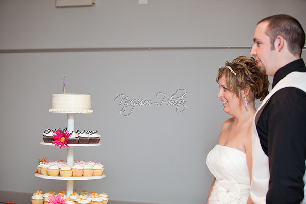 Cake Cutting - Sierra and Justin