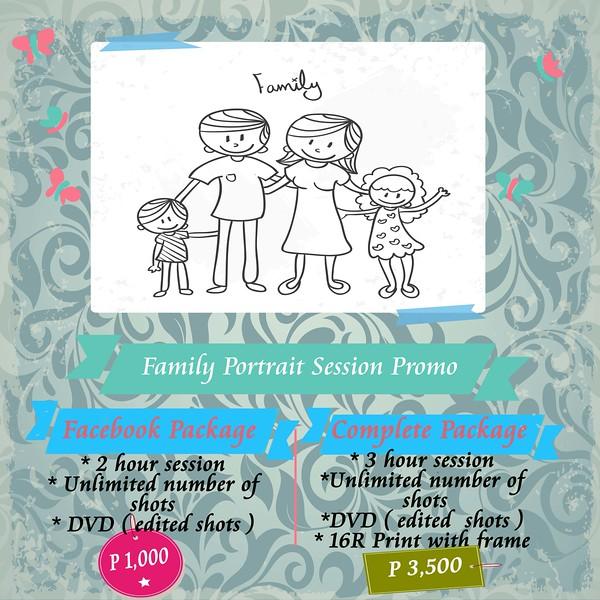 Family Portrait Promotion