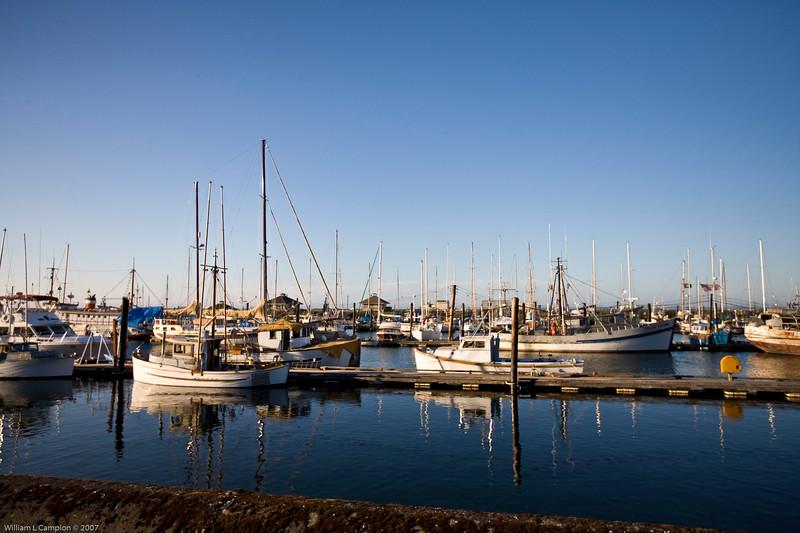 Dock Side in Port Angeles, WA