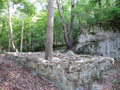 NPS Nuttallburg Tipple Restoration Site Aug 2011