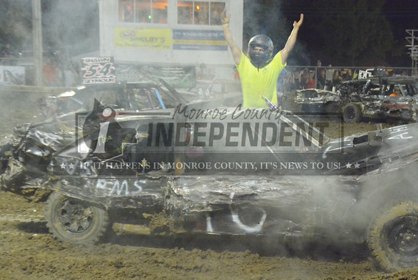 2017 Monroe County Fair - Demo Derby