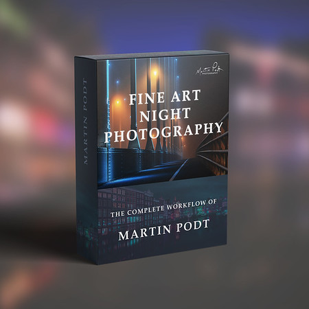 Night photography workflow and Photoshop actions