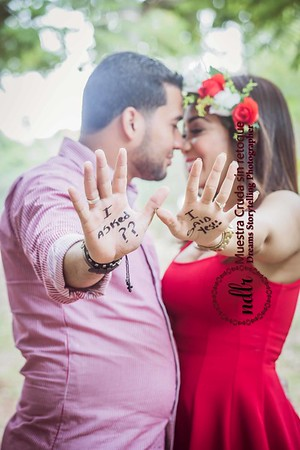 Sesion I say Yes Marian y Joel