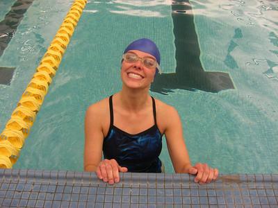 Anna's first Biatholon: The Splash and Dash 2008