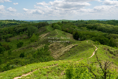 USA, IA - Loess Hills National Scenic Byway